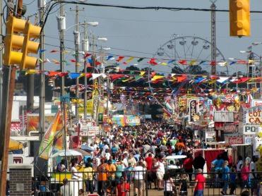 Wandering through the fair
